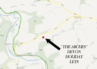 Location Map - The Arches